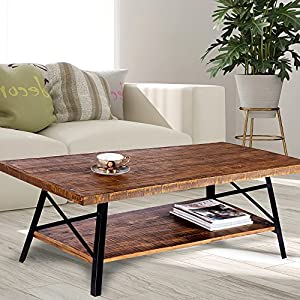 Olee Sleep Solid Wood & Dura Metal Legs Sofa Table