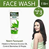 Roop Mantra Neem Face Wash, 115ml (Pack of 3)