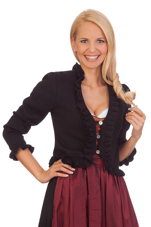 Damen Trachten Bolero - GIULIA - schwarz