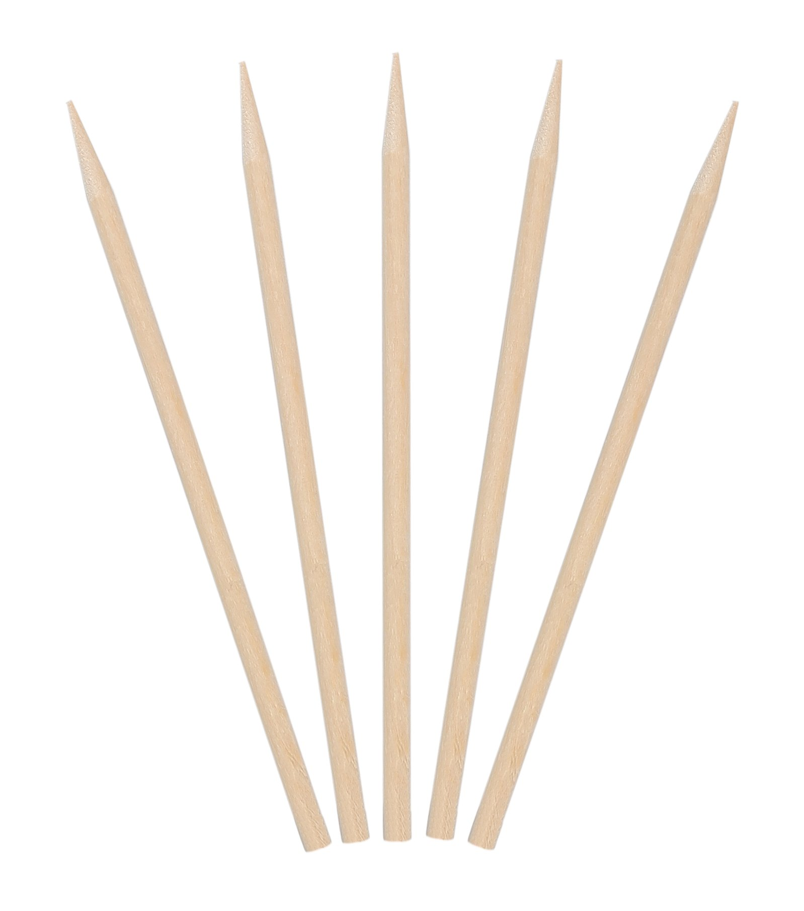 KingSeal Natural Birch Wood Meat Skewers, Sticks - 4.5 Inches, 3.5mm diam, 1000 Count