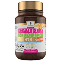 BEE and You Royal Jelly Propolis Bee Pollen Chewable Tablets