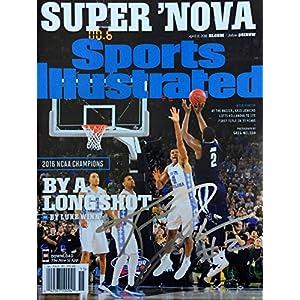 Kris Jenkins VILLANOVA WILDCATS autographed Sports Illustrated magazine 4/11/16