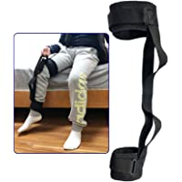 Thigh Lifter Leg Strap Lifting Foot Legs up Adjustable Lift Feet Straps with Hand Grip Ankle Lifters Loops Mobility Aids Accessories Elderly Disability Pediatrics for Wheelchair Bed Car Chair