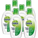 Dettol Instant Hand Sanitizer, Original - 50 ml Each (Pack of 6)