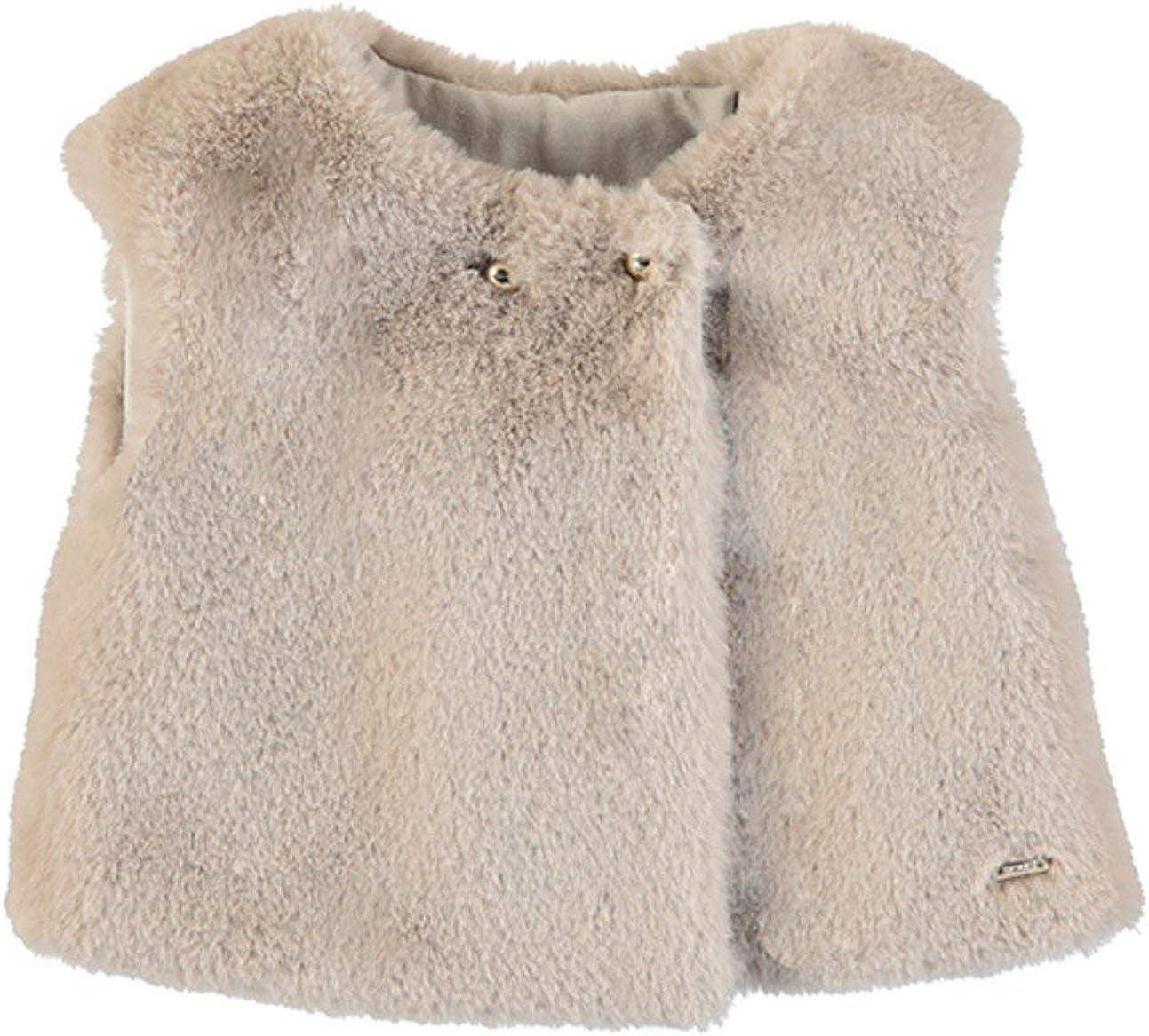Mayoral Girls Toddler Furry Vest