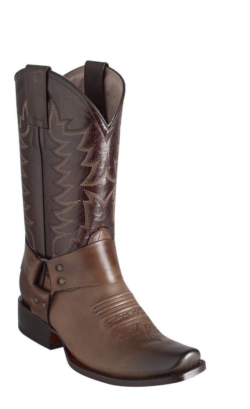 Men's Atanado Roper Leather Western Boots
