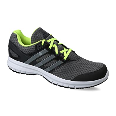 adidas Men's Galactus 1.0 M Visgre, Jungre and Syello Running Shoes - 10 UK/