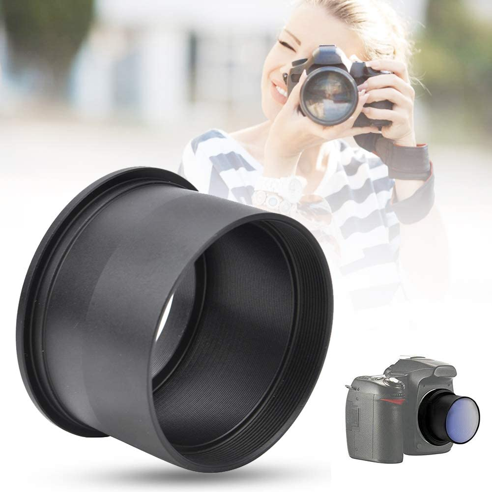 Qiterr Telescope Adapter Ring 2 Inch T Mount-m42 Astronomical Telescope 2 Inch Lens to M42 Adapter Ring 0.75mm Thread for Astronomy Binoculars
