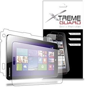 "XtremeGuard™ Full Body Screen Protector for Lenovo IdeaTab Miix 2 8"" Tablet (Ultra Clear)"