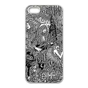 Led Zeppelin iPhone 5 5s Cell Phone Case White yyfabd-347344