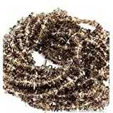 1 Strand (34inches) of Natural Gemstone Chips Beads. wholesale price. Prepared exclusively by GemMartUSA (Smokey Topaz)