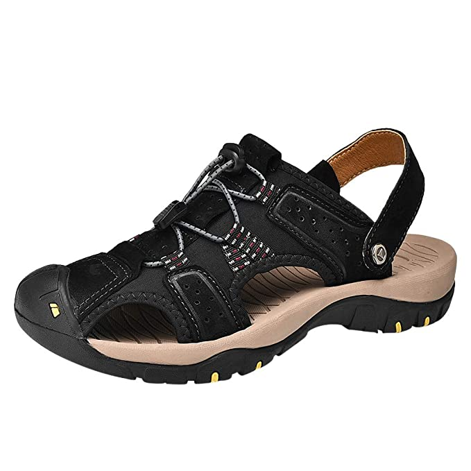 9597f8ff86559 Mens Outdoor Slip On Sandals by Dainzuy,Summer Fashion Breathable ...