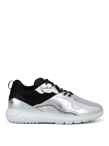 Hogan Hombre HXM3710AQ12JJJ737L Gris Cuero Zapatillas: Amazon.es: Zapatos y complementos