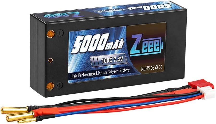 Bateria Lipo 5000mah 80c 2s 7.4v Conector Deans Zeeee