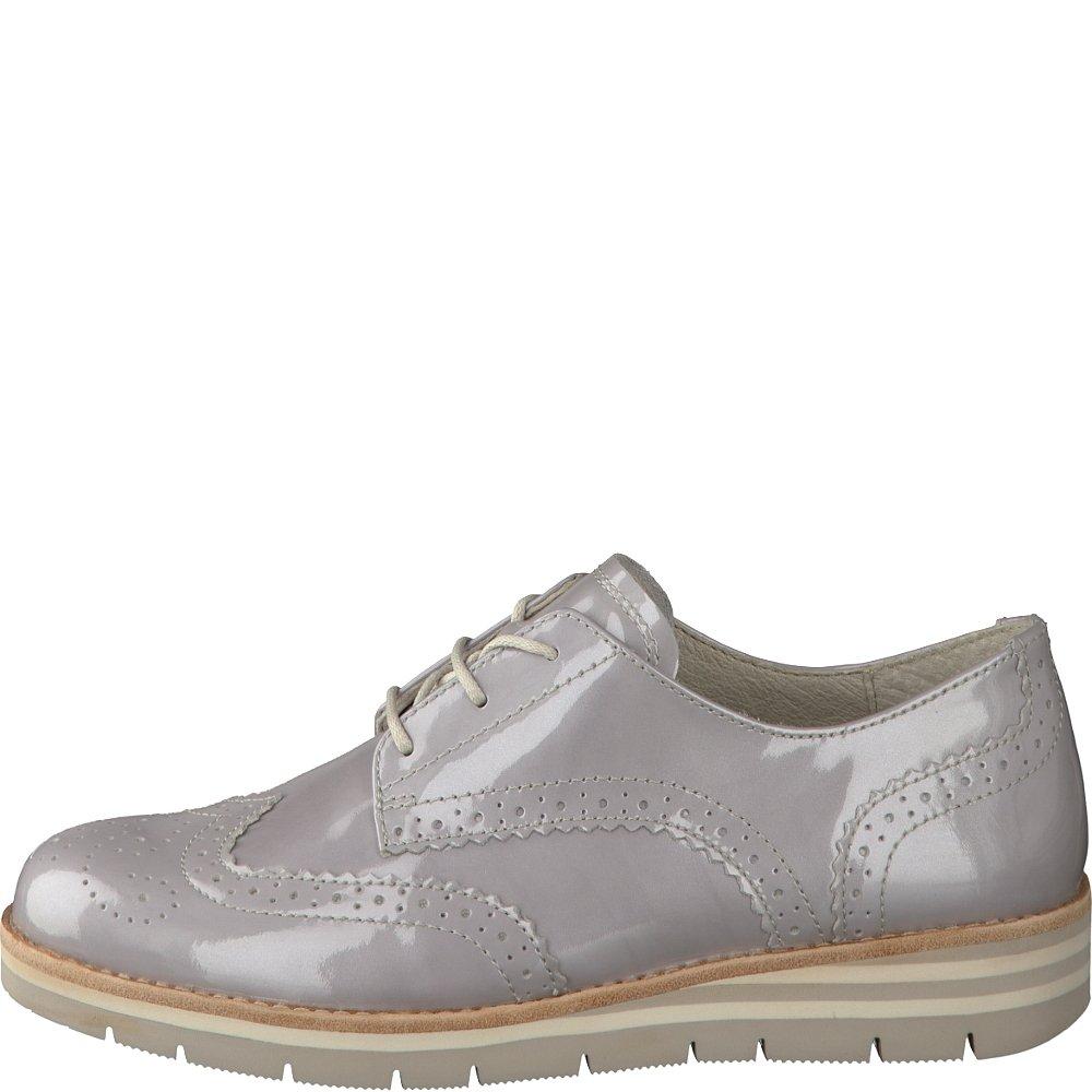 Gabor 42.558.95 - Zapatos de cordones para mujer 39|Gris - gris claro (grey 801)
