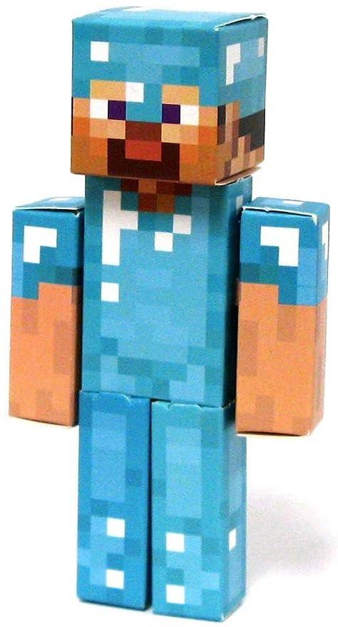 jazwares minecraft diamond steve papercraft single piece - Minecraft Papercraft Diamond