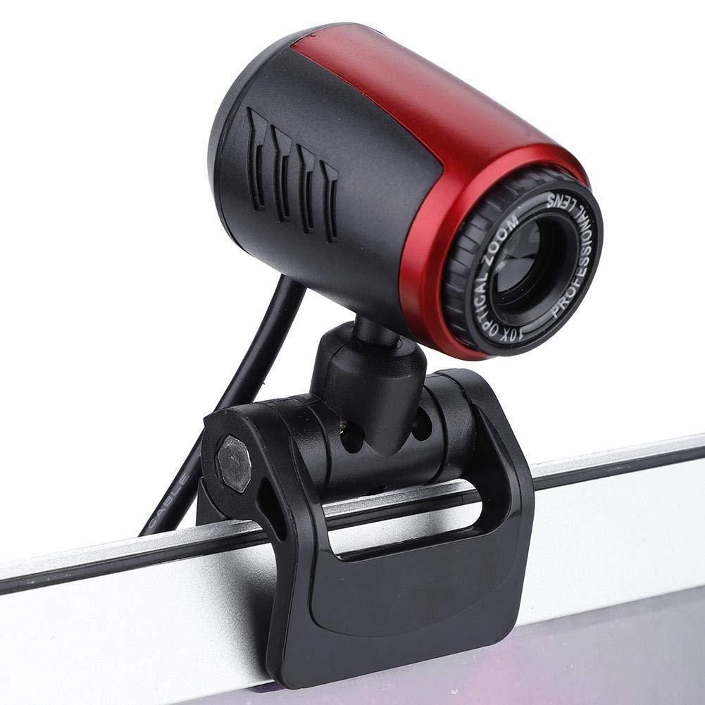 Jadeshay C/ámara USB-USB 2.0 port/átil de Webcam con micr/ófono 16MP HD Webcam C/ámara Web CAM 360 /° Compatible con Skype//MSN