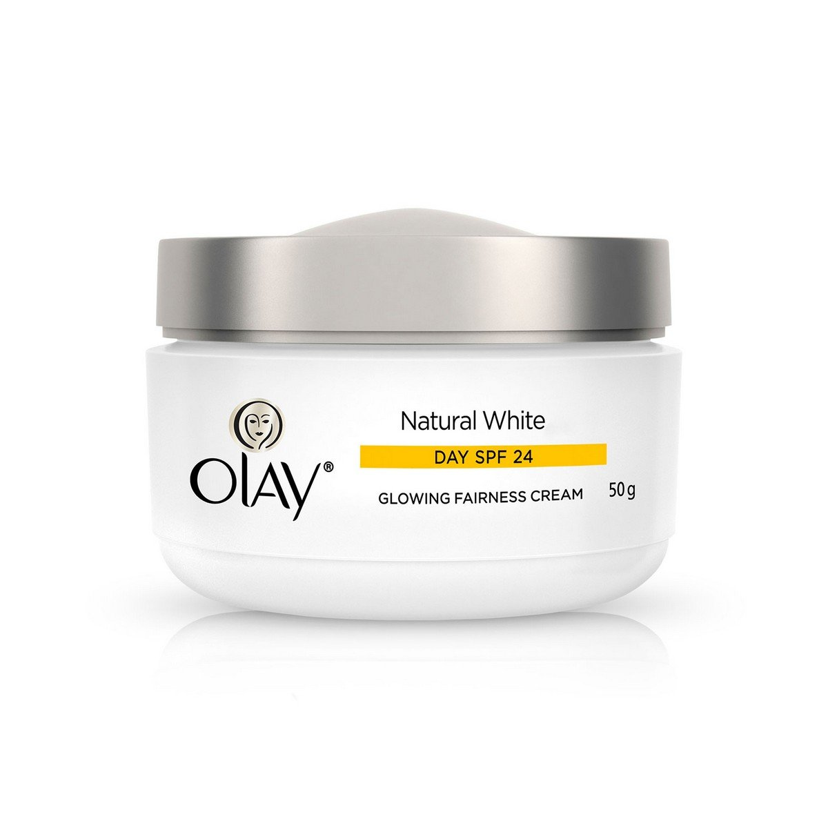 Olay Natural White Glowing Fairness Cream Day Spf 24 50g Daily Glow Krim Beauty