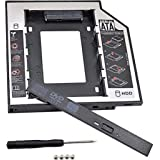 Alfais Al-4717 12.7 mm SATA HDD Harddisk Caddy Kızak Kutu Laptop SSD Notebook Ikinci HDD Takma
