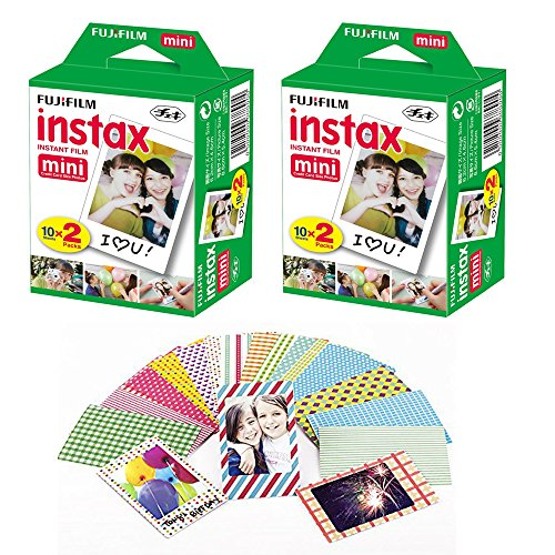 fuji-instax-mini-instant-film-40-shots-with-bonus-20-decorative-skin-stick-on-stickers-for-fuji-inst