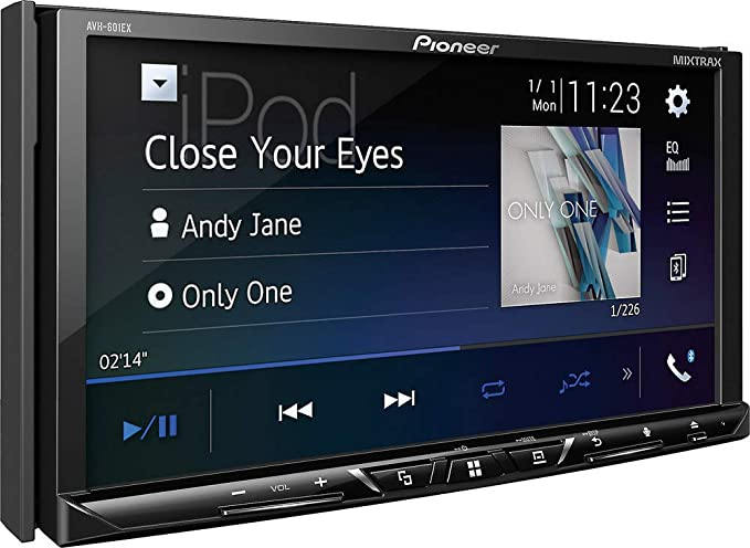 Amazon.com: Pioneer AVH-601EX 7 Inch DVD Receiver with HD Radio, SiriusXM Ready and Bluetooth: Cell Phones & Accessories