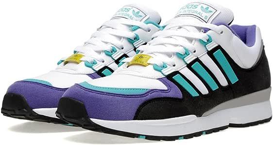 adidas para Hombre Original torsión Integral S Zapatillas de Running/ Zapatillas Q22099 RRP £90, Black/Grey/White/Yellow, 6 Reino Unido: Amazon.es: Deportes y aire libre