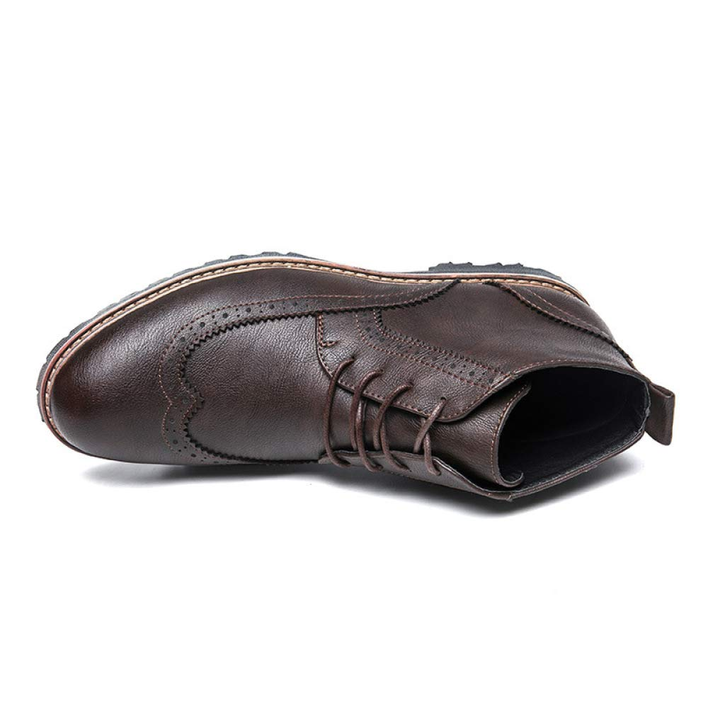 WDYY Otoño E E E Invierno De Los Hombres Zapatos De Tacón Alto Zapatos Casuales Al Aire Libre 37ed8d