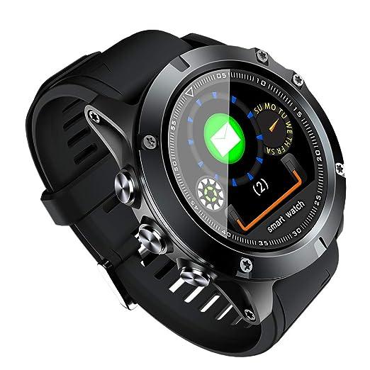 NAVIFORCE L11 Reloj Inteligente Pulsera Deportiva Rastreador Monitor de Ritmo Cardíaco Sueño Inteligente Recordar la Pulsera de la Aptitud para Android ...
