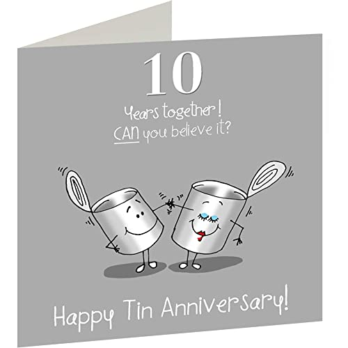 Tin Anniversary Gifts: Amazon.co.uk