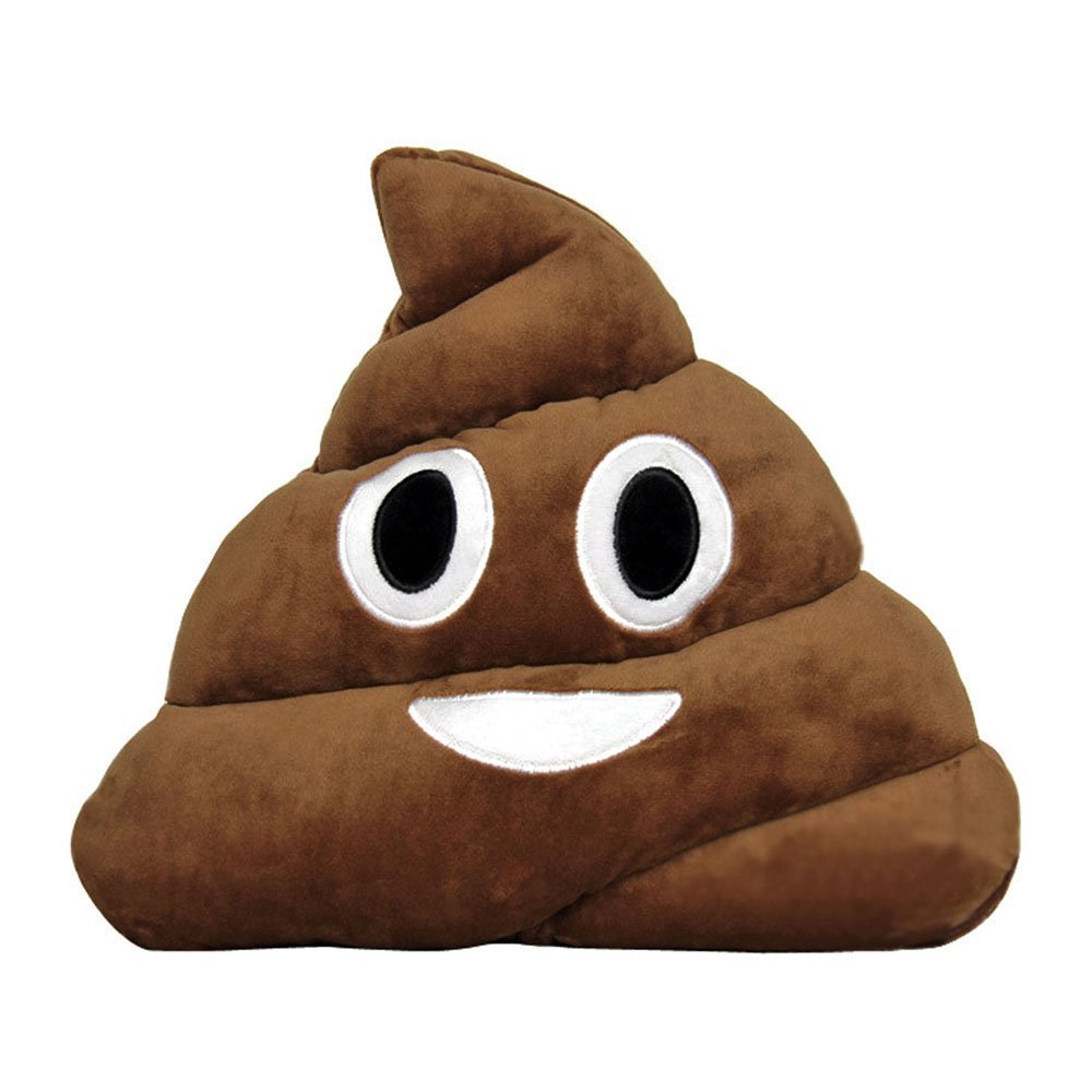 Amazon.com: Poop Emoji Pillow Emoticon Stuffed Plush Toy Doll Smiley Cat Heart Eyes Alien Devil Kiss Face (THROWING KISS): Home & Kitchen