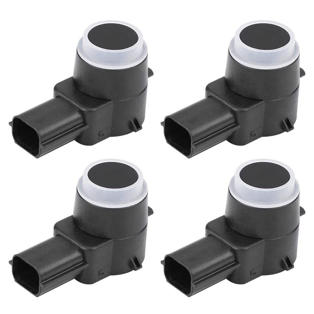 Qiilu 4pcs Car Rear Bumper PDC Parking Reversing Sensor for Chevrolet Silverado GMC Sierra 20908127