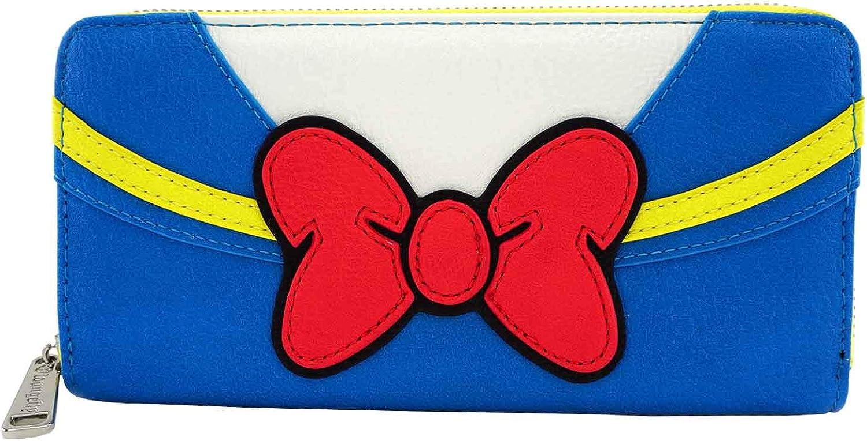Loungefly x Disney Donald Duck Zip-Around Wallet