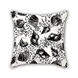 Slimmingpiggy Pillow Covers Of Sea 18 X 18 Inches / 45 By 45 Cm,best Fit For Lover,club,festival,saloon,dining Room,kitchen Two Sides