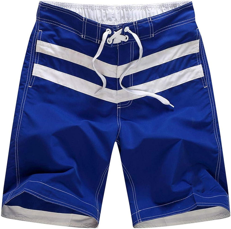 HappyWe Beach Shorts Men Swimwear Liner Mesh Sweat Swimming Trunks Swimsuits Surfing Mens Bathing Suits Quick Dry