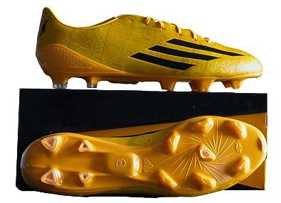 3e1c47e8b9ab7d Adidas F50 Adizero FG Messi Oro, Gold/Core Black/Core Black, 42: Amazon.it: Sport  e tempo libero