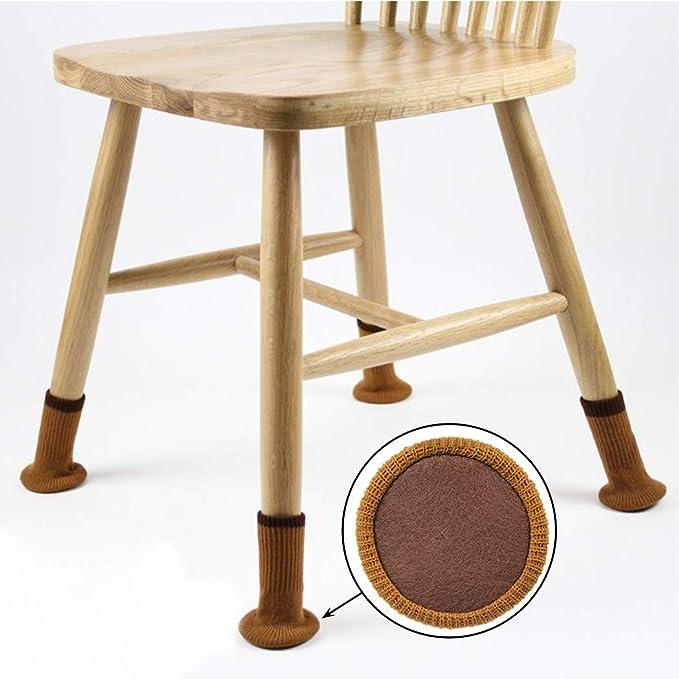 4cm Zonster 4 Pcs//Set au Hasard R/éduire Le Bruit Anti Slip Patte de Meuble Pieds Casquettes Tapis Coussinets Chaise Chaussettes Leg Table Protector 4