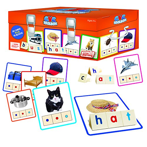 Junior Learning Cvc Toolbox Educational Action Games -