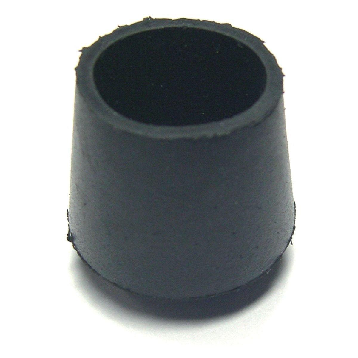 Embout enveloppant caoutchouc noir 27 ø mm Bricodeal