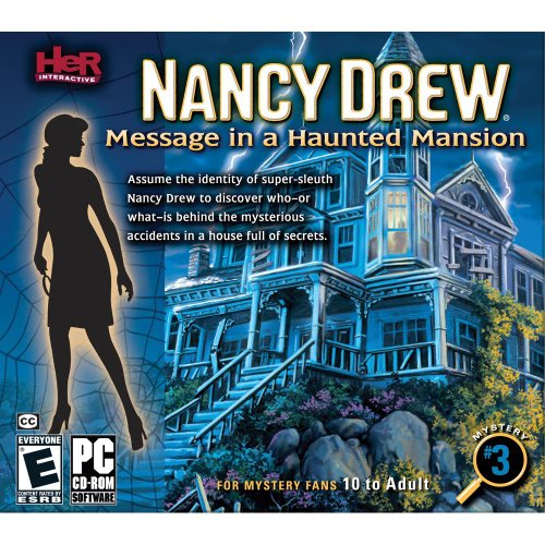 (Nancy Drew Message In A Haunted Mansion - Windows PC Game)