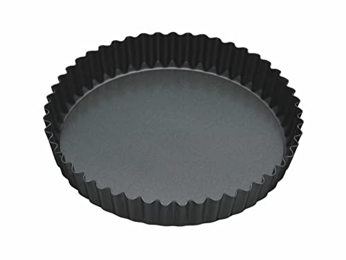 Le Creuset Stoneware Fluted Flan Dish 24 Cm Cerise