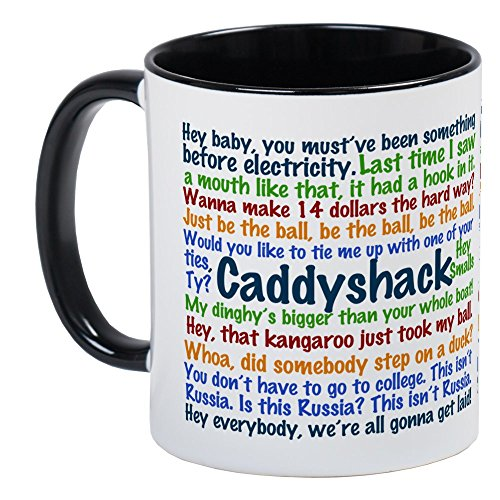 CafePress Caddyshack Quotes Unique Coffee Mug, Coffee