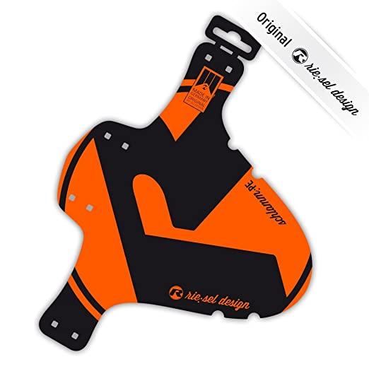 3 opinioni per Riesel MTB parafango posteriore parafango, unisex, Mtb Rear Fender, Orange /
