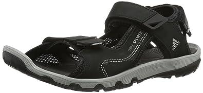 feabe9c0bee3e8 adidas Terra Sports Leather II V22788 Herren Sandalen