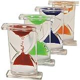 Set de sabliers colorés à bulles