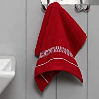 Home Centre Essence Cotton Face Towel - Red