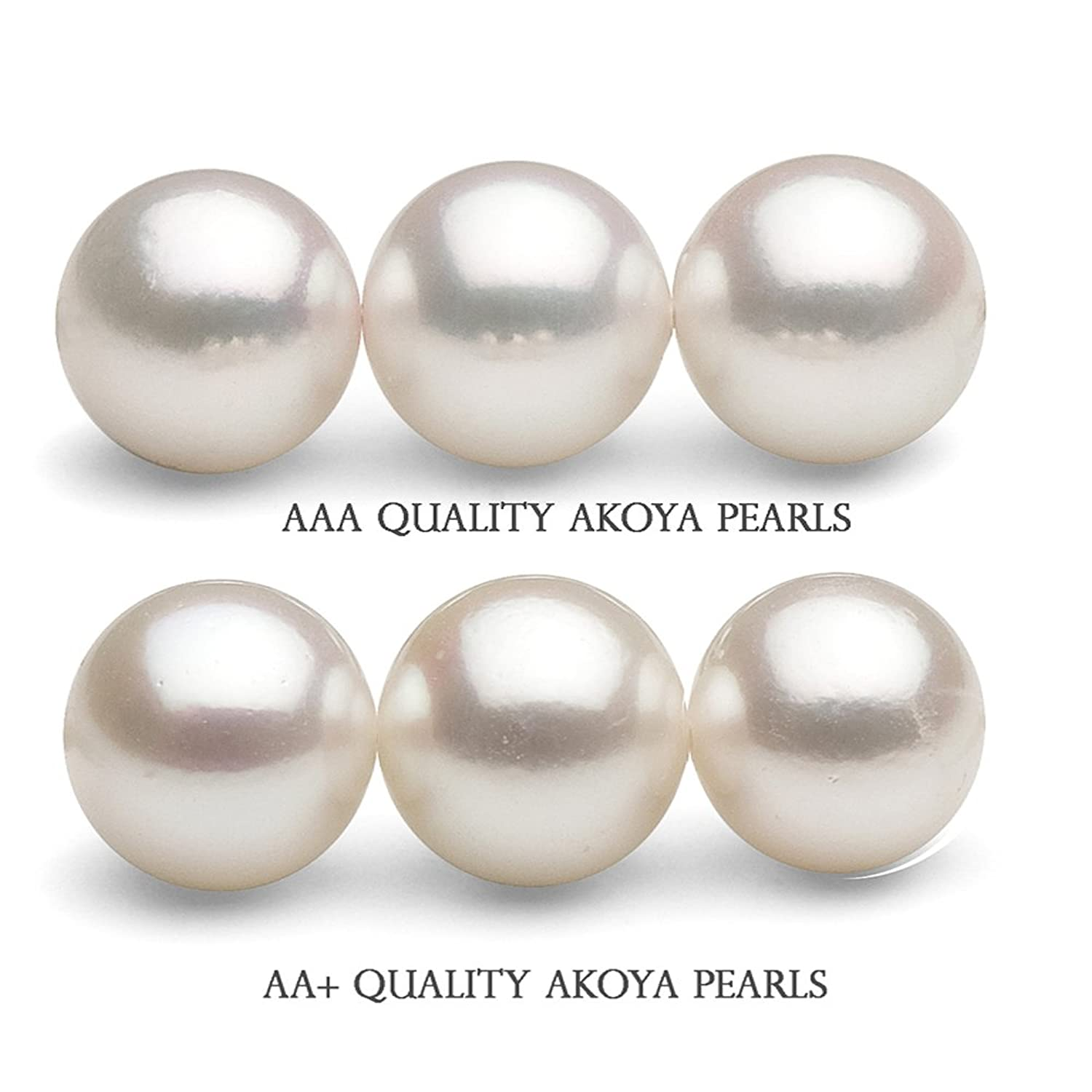 bronze beads rounds sea products pearl copy round water fresh pearls smooth paradise strand of