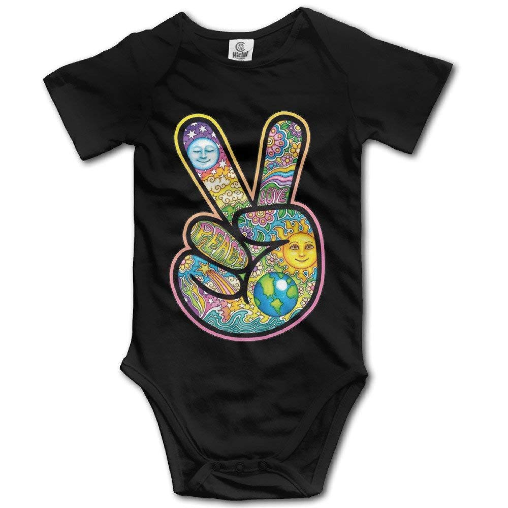 ZMYGH Galaxy Space Kitten Cat Eat Pizza Infant Baby Outfit Creeper Short Sleeves Bodysuits