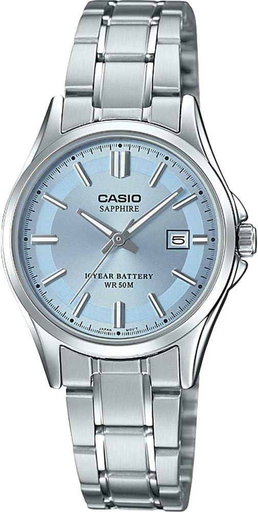 CASIO Horloge LTS 100D 2A2VEF: : Montres  PKGr8