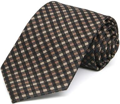 Amazon Com Tiemart Boys Light Brown George Plaid Necktie Clothing