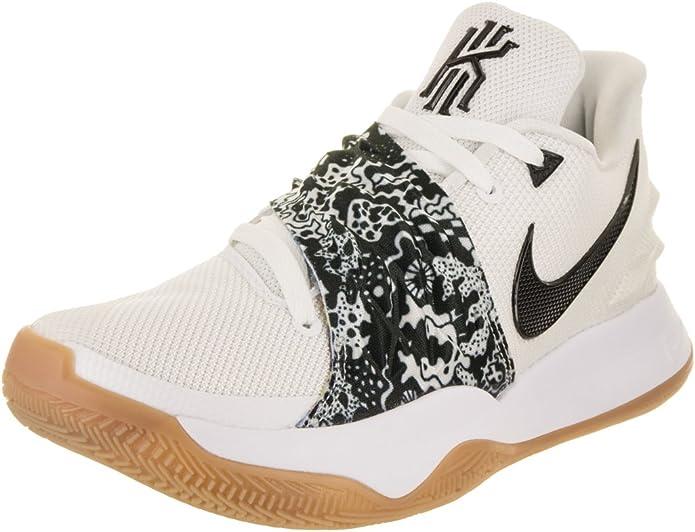 Nike Kyrie 4 Baja Hombre Blanco Negro 9.5 Reino Unido: Amazon.es ...
